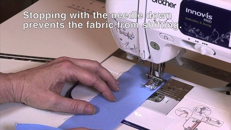 Sewing a Seam on the Brother NV950