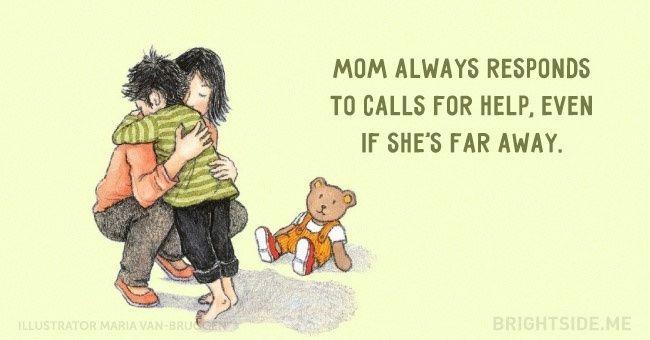 15wonderfully tender postcards dedicated toour beloved moms