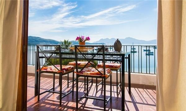 Amazing view from the balcony of this #holiday apartment #Pollensa #Mallorca #Spain #travel