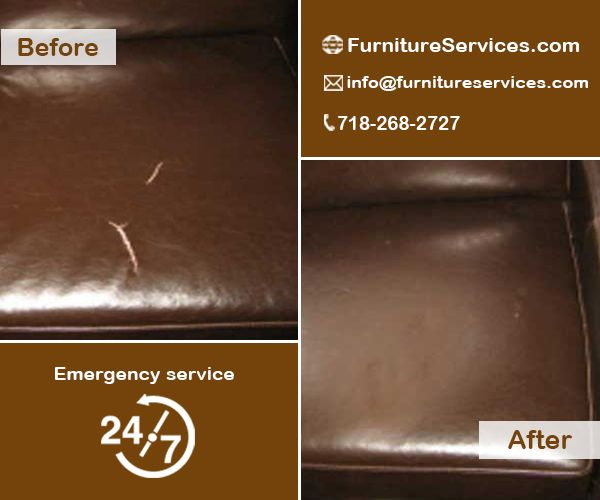 Leather Couch Repair.