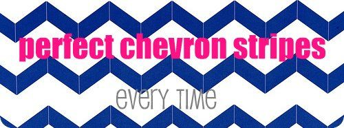 Chevron Stripes How-To…because it's tricky
