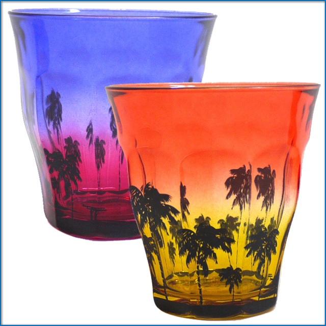 Sunset Beach DURALEX BY Ron Herman ロンハーマン別注 デュラレックス ピカルディー 220ml グラス