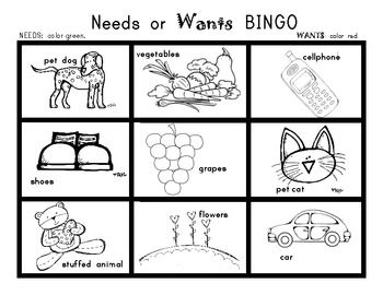 1000+ images about Needs and Wants on Pinterest | Goods ...