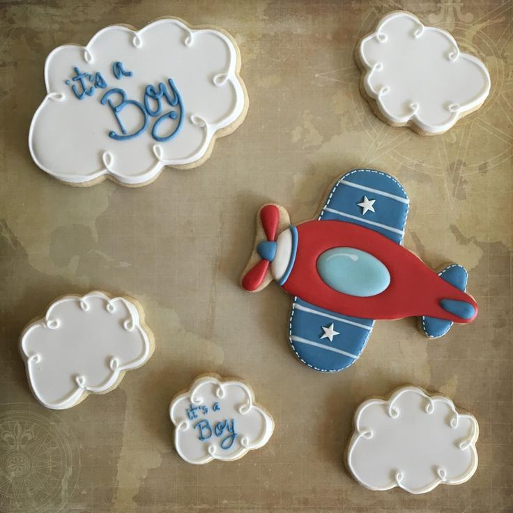 Planes Cookies & Clouds - Adorable! https://www.annclarkcookiecutters.com/product/cloud-cookie-cutter