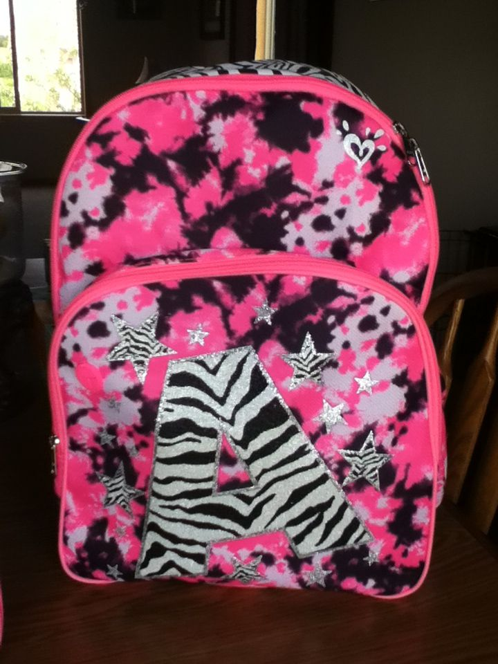 Super cute back to school bag!! From justice