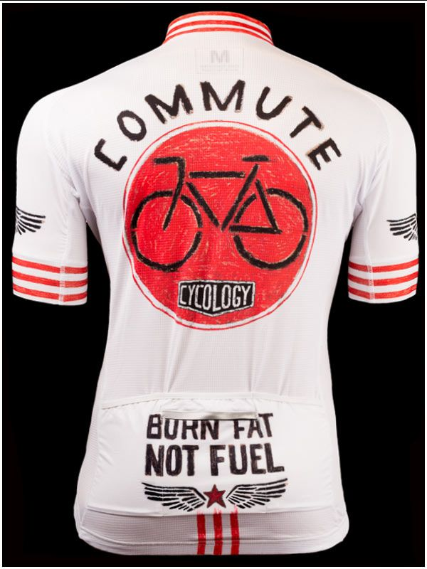 Burn Fat Not Fuel - Cool new jersey range from Cycology. All Italian fabrication. FREE SHIPPING WORLDWIDE. #Cycling jerseys