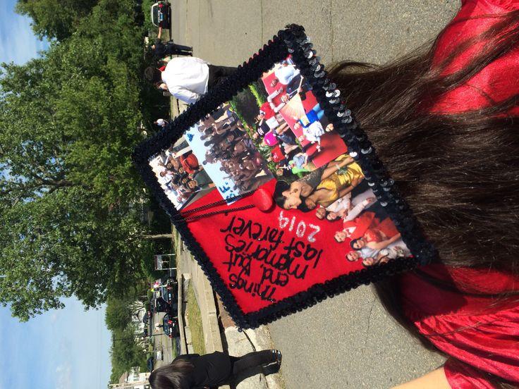 My own, handmade graduation cap :)