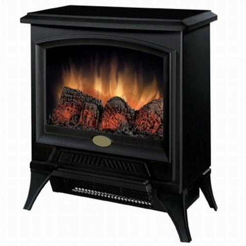 ***FREE SHIPPING***This Compact Stove Style Electric Fireplace Space Heater in Black gives you traditional stove warmth and ambiance on a smaller scale. This 17.5 inch wide, 21.75 inch tall and 12 in