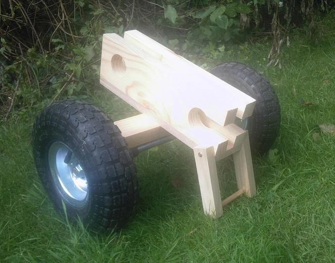 Wooden Wannigan, Portage Trolley, moveable Kneeling Thwart canoe accessories.