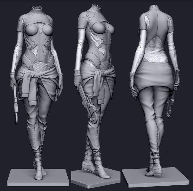 Sci-Fi Mechanic - Madina's portfolio