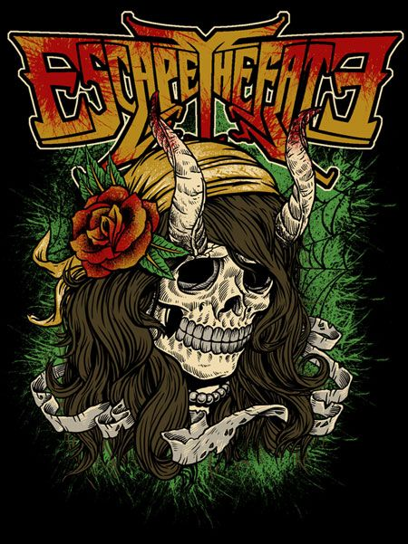 ☆ Escape the Fate :: By Jonathan Bergeron ☆