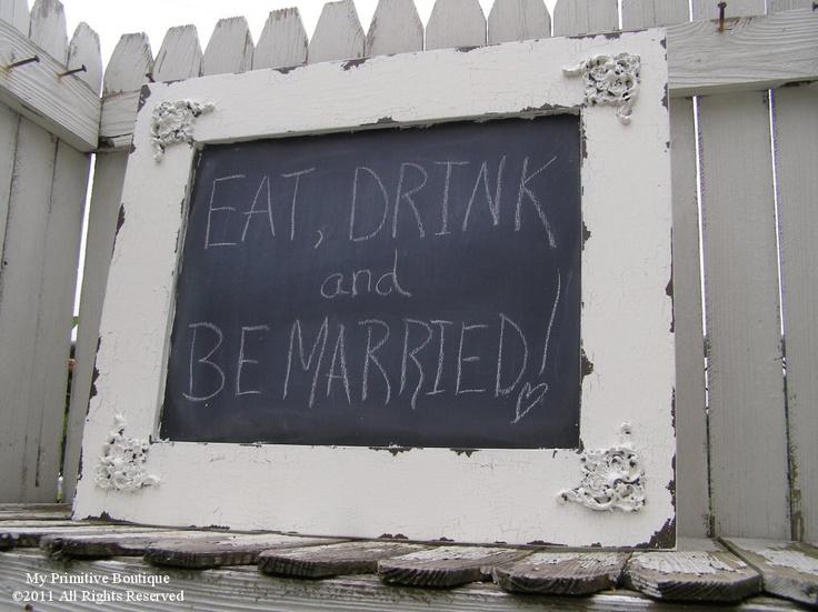 Vintage Chalkboard Wedding Photobooth Props Photographer