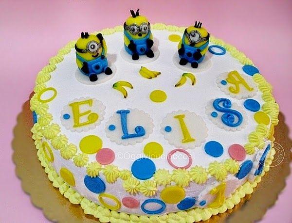 ©Oggi vi cucino così!: Torta Minions