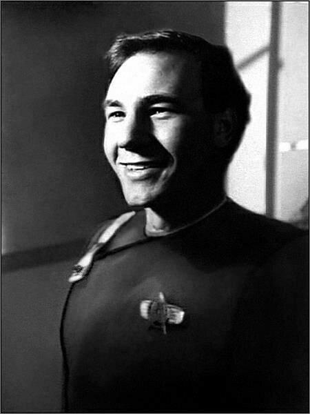 Star Trek TNG; Ensign Picard ready for duty!