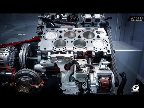 All new Renault 1.6 dCi 130 (R9M) Engine Technology - YouTube