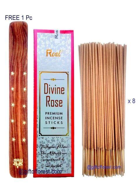 Real Divine Rose Incense Sticks