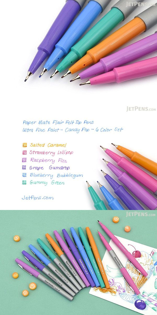 Since the 1960s, Paper Mate Flair pens have been a favorite way to add a splash of color to your work, whether you're color-coding lists, decorating scrapbooks, or sketching out your latest art project.