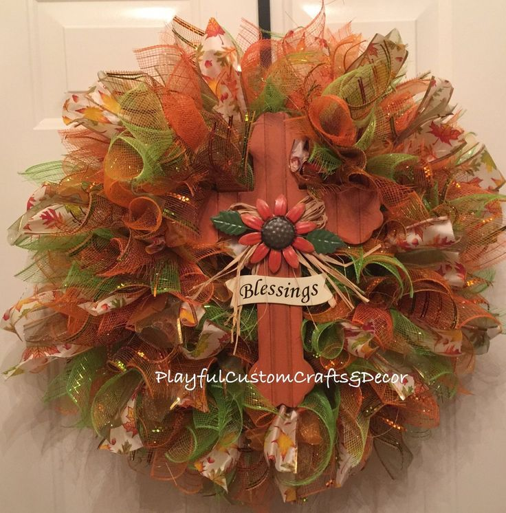 Blessings Fall Wreath 60 best Fall Wreaths