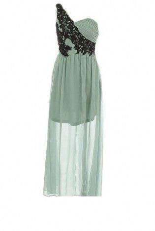 One Shoulder Dress #love #cute #girl #fallfashion #mididress #homecoming #wedding #lace