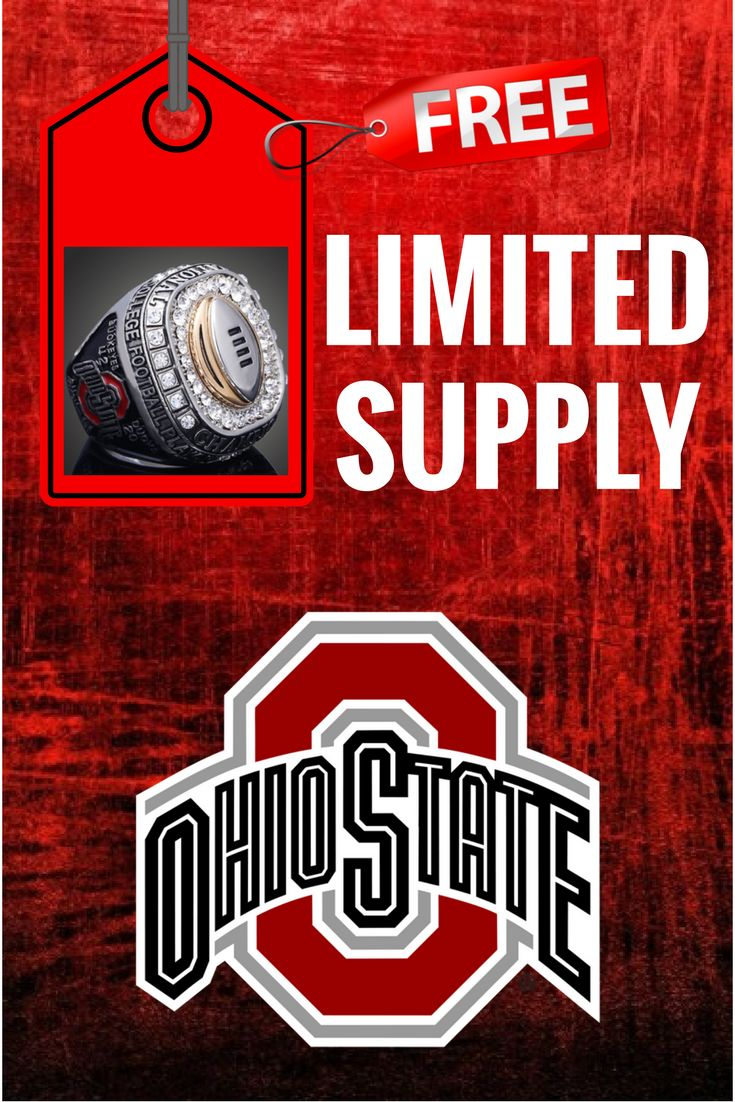 NCAA 2017 OHIO STATE BUCKEYES AMERICAN FOOTBALL *LIMITED SUPPLY*
