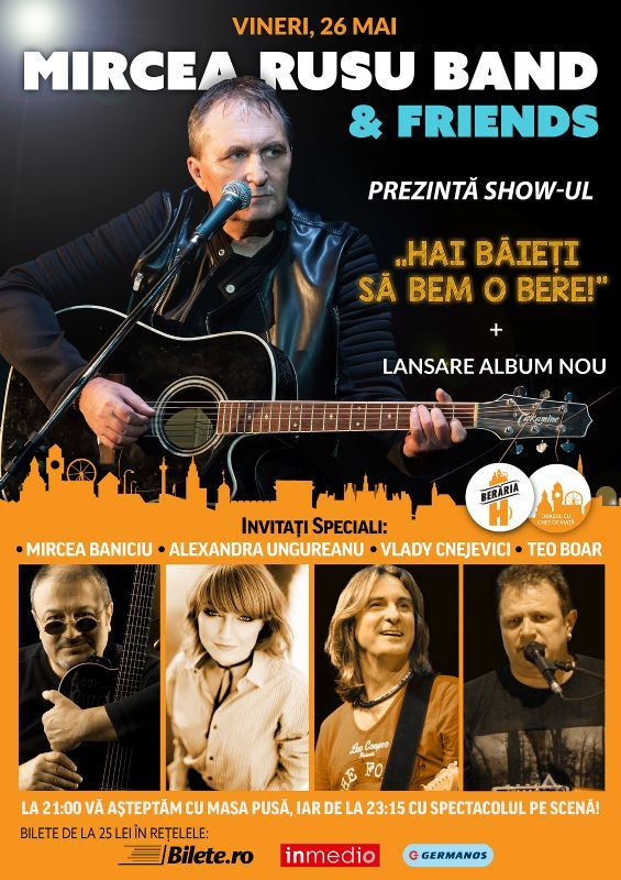 Concert Mircea Rusu Band & Friends