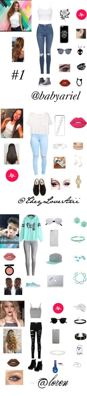 musical.ly sets by tina-a-unicorn on Polyvore featuring Topshop, Converse, Forever 21, Casetify, Quay, Lime Crime, Otis Jaxon, musical, babyariel and MANGO