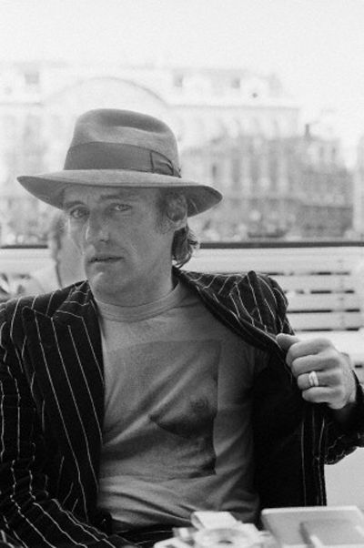 Love this guy. And his hat and jacket and t-shirt combo. There'll never be another Dennis Hopper.