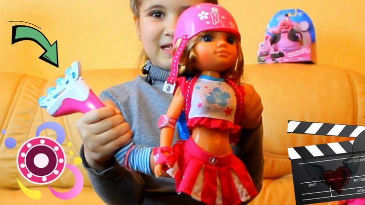 Кукла на роликах