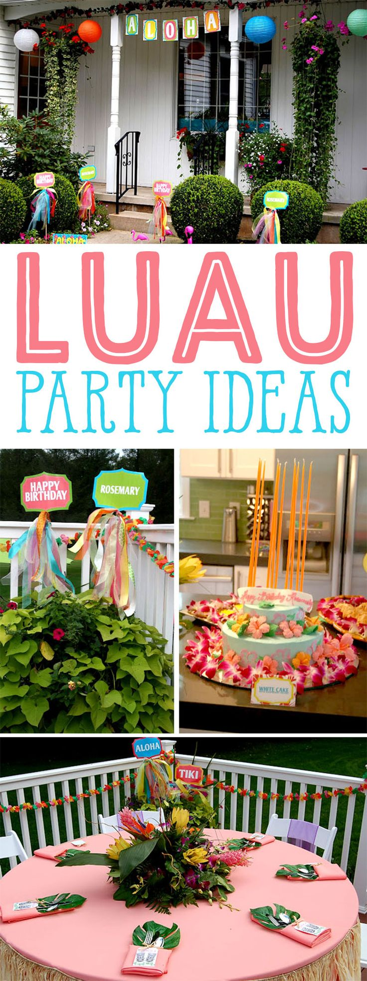 Luau Birthday Party Ideas on Love The Day