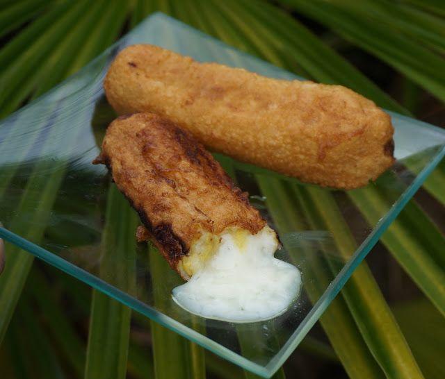 Platanos con queso - Aborrajados colombianos ~ Pasteles de colores