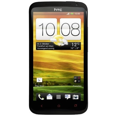 "For the current HTC flagship HTC One X+, there is ""only"" Android 4.1.1 available. Through various custom ROM's also Android 4.2.1 is available"