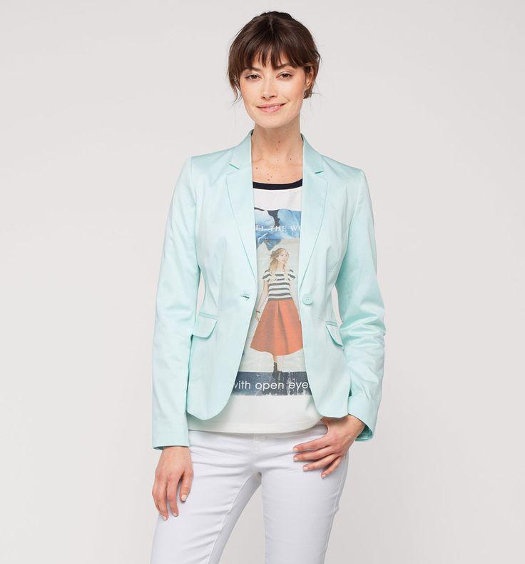 Damen Klassischer Blazer in türkis - Mode günstig online kaufen - C&A
