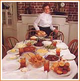 The Wilkes House spread in Savannah, GA