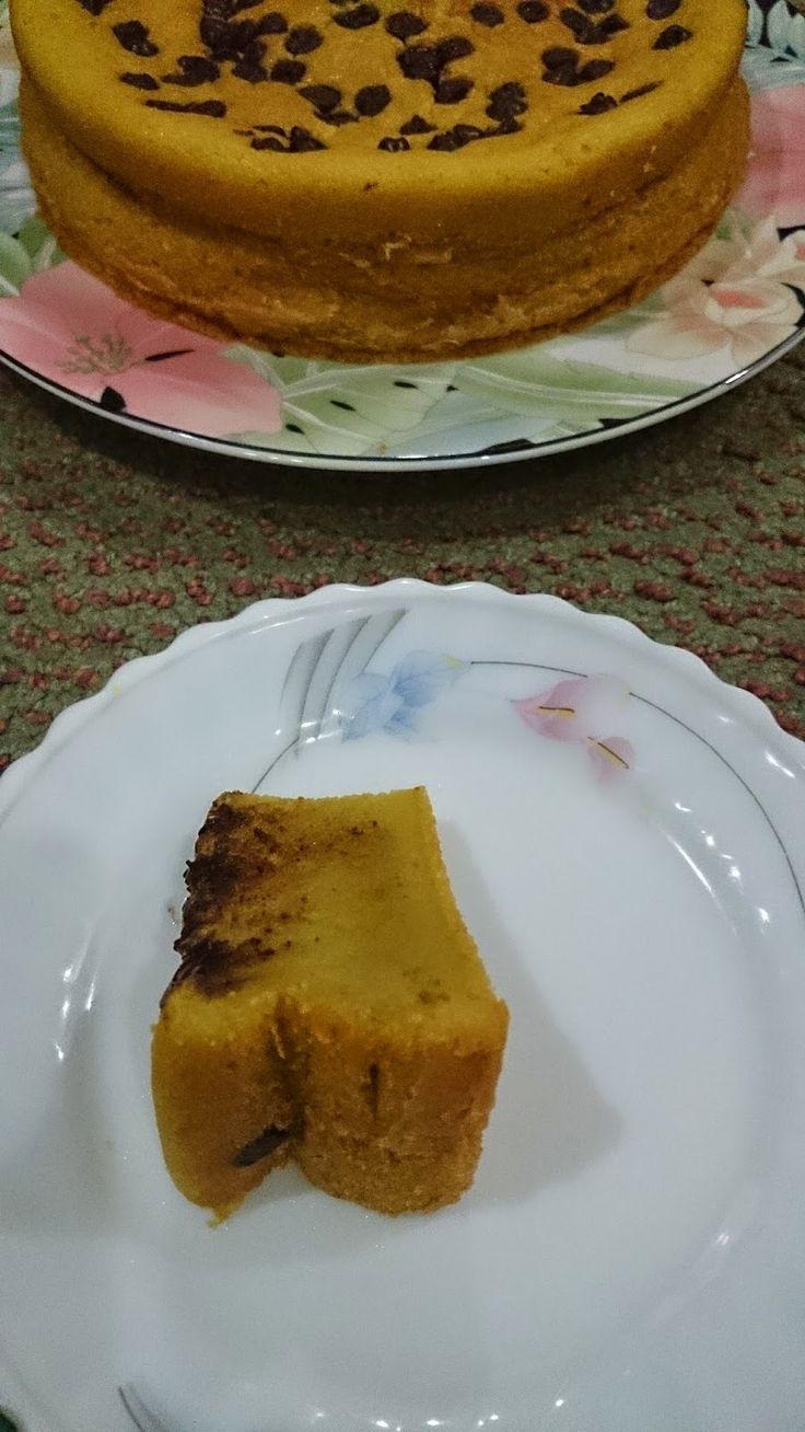 Rumah Makan DJOWO KLATEN: AVOCADO WITH CHOCOLATE CHIPS CAKE