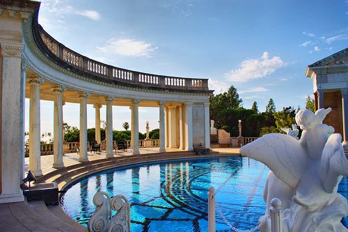 favorite pool of all time...hearst castle