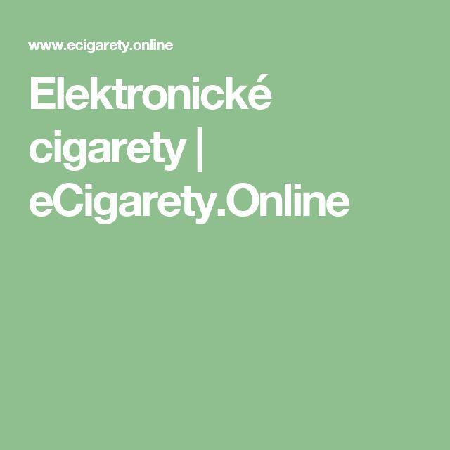 Elektronické cigarety | eCigarety.Online