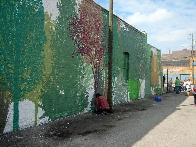 SoHud Community Mural Wall 3. Image credit: Bryan Loar, via Flickr