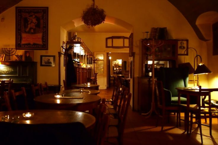 cafe montmartre prague - Google Search