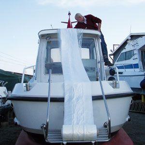 Rollo de Lona Náutica Transparente para Barcos 12 X 50 mt