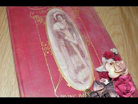 Altered Book - Junk Journal - YouTube Finally someone not annoying to listen to!