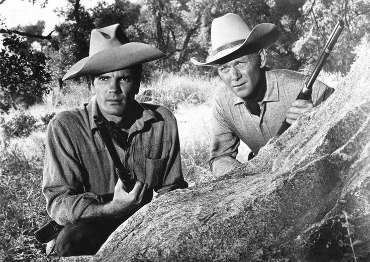 Tom Tryon, Harry Carey Jr - Texas John Slaughter (1958) - 8 1/2 X 11 | eBay