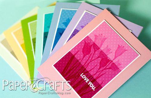 Springy Tulip Cards