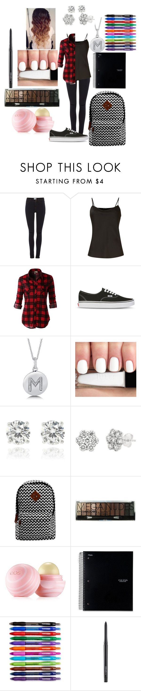 """My first day of High School- freshman year"" by mckinleydallas ❤ liked on Polyvore featuring Vero Moda, Untold, LE3NO, Vans, BERRICLE, The Limited, Lord & Taylor, Boohoo, Eos and Paper Mate"