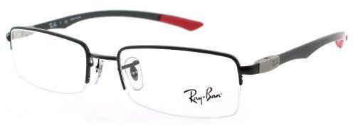 Eyeglasses Ray-Ban Vista RX8407 2509 BLACK DEMO LENS Ray-Ban. $106.45