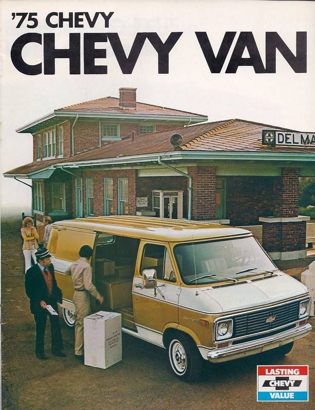 1975 Chevrolet Van Brochure