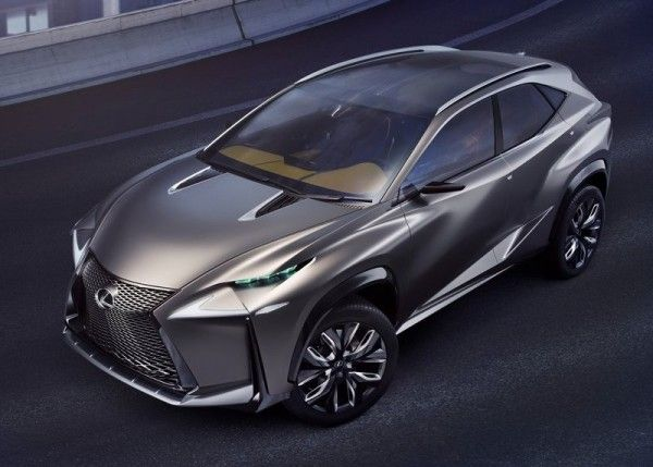 Lexus LF NX Front Side 600x429 2013 Lexus LF NX Concept Reviews
