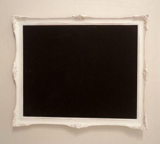 Pizarrón negro con marco francés original