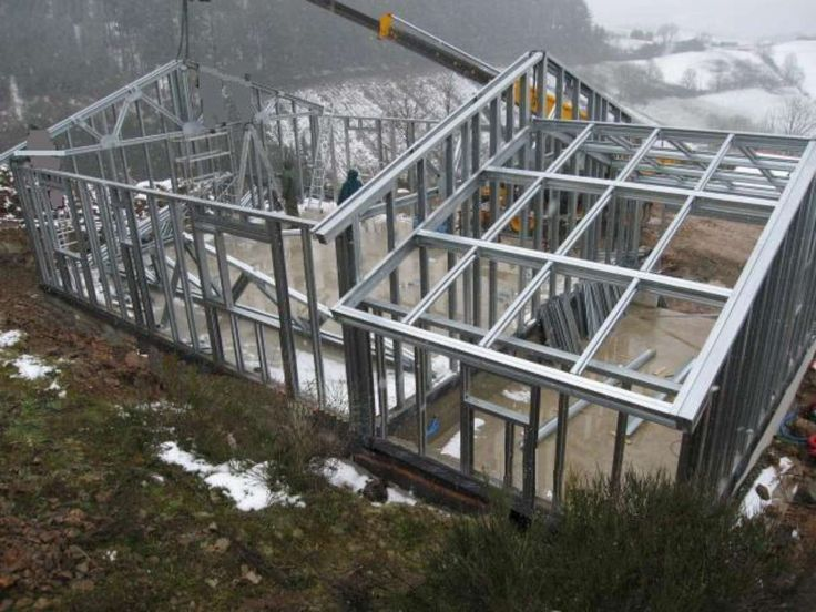 25 best maison ossature metallique ideas on pinterest for Structure metallique architecture