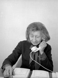 Violette Leduc - photo André Bonin © Éditions Gallimard