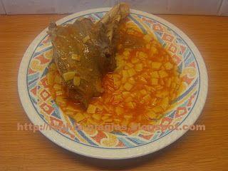 Τα φαγητά της γιαγιάς - Βεργάδι με χυλοπίτες (τουτουμάκια)